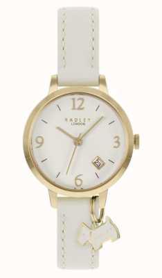 Radley | femmes | bracelet en cuir crème | cadran crème | RY21210