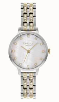 Radley Bracelet femme en acier bicolore | cadran blanc RY4559