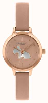Radley Bracelet en cuir rose pour femme | cadran rose RY21254A