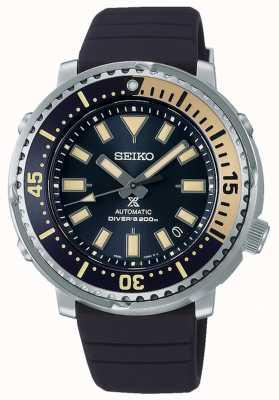 Seiko Prospex | édition safari de thon série rue | bracelet en silicone bleu | cadran bleu SRPF81K1