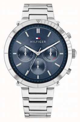 Tommy Hilfiger Emery | bracelet en acier inoxydable pour femme | cadran bleu 1782349