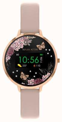 Reflex Active Montre intelligente série 3 | bracelet rose nude RA03-2014