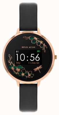 Reflex Active Montre intelligente série 3 | bracelet noir RA03-2040