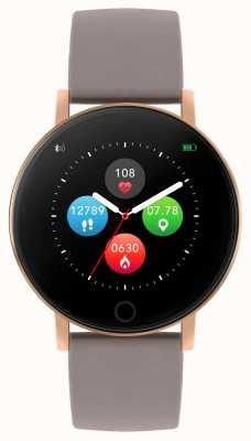 Reflex Active Montre intelligente série 5 | moniteur hr | écran tactile couleur | bracelet taupe RA05-2034