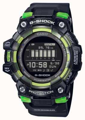 Casio G-shock   sports série vitale   bracelet en silicone noir   cadran noir GBD-100SM-1ER
