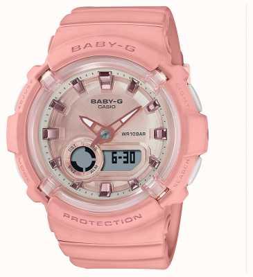 Casio Baby-g | bracelet en silicone rose corail | BGA-280-4AER