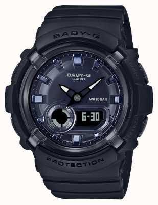 Casio Baby-g   bracelet en résine noire   cadran noir   BGA-280-1AER