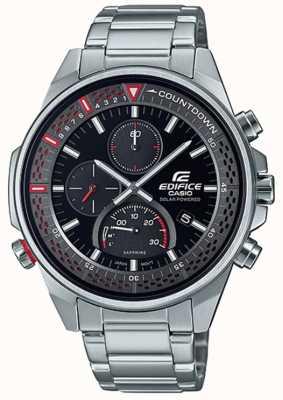 Casio Edifice | chronographe saphir mince | bracelet en acier inoxydable EFS-S590D-1AVUEF