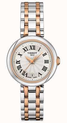 Tissot Bellissima | cadran argenté | bracelet en acier inoxydable bicolore T1260102201301