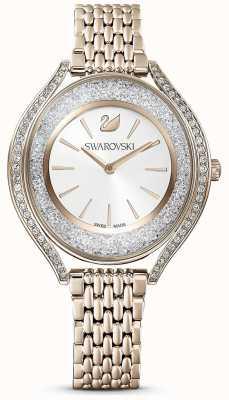 Swarovski | aura cristalline | femmes | bracelet en acier inoxydable or | cadran blanc | 5519456