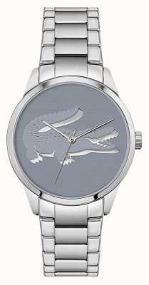 Lacoste Ladycroc | bracelet en acier inoxydable | cadran bleu 2001174