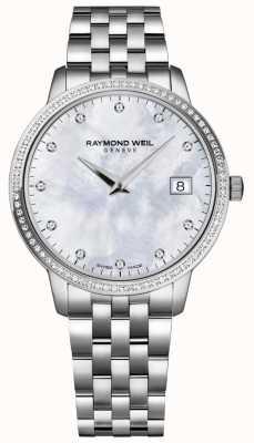 Raymond Weil Toccata | cadran diamant nacre femme | 5388-STS-97081