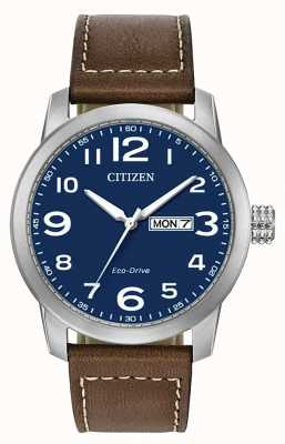 Citizen Sangle Eco-Drive pour homme WR100 BM8471-19L