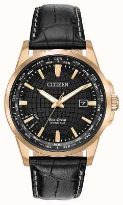 Citizen Minuterie Eco-Drive World pour homme WR50 BX1003-08E