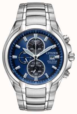 Citizen Bracelet en titane eco-drive pour homme CA0700-51L