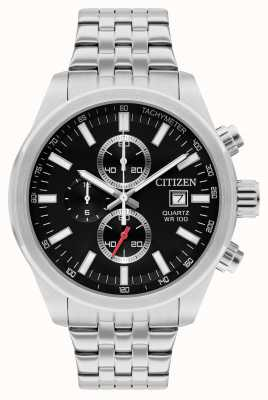 Citizen Chronographe à quartz en acier inoxydable AN3620-51F