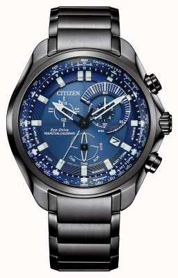 Citizen Cadran bleu à calendrier perpétuel eco-drive pour homme BL5607-54L