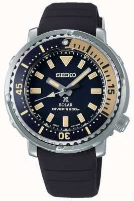 Seiko Prospex | bracelet en silicone noir | cadran noir SUT403P1