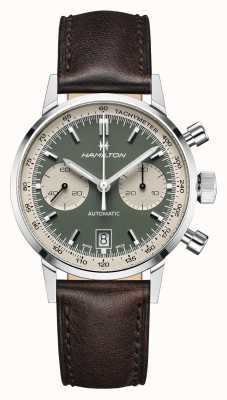 Hamilton Intramatique | automatique | chronographe | cadran vert H38416560