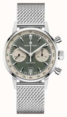 Hamilton Intramatique | automatique | chronographe | cadran vert H38416160