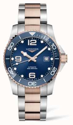 Longines Cadran bleu deux tons hydroconquest pour homme L37813987
