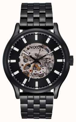 Nixon Montre Spectra cadran squelette monochrome noir A1323-004
