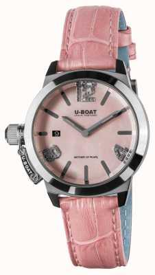 U-Boat Bracelet en cuir rose Classico 38 8480