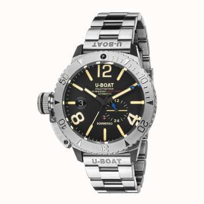 U-Boat Sommerso / a sur bracelet en acier inoxydable 9007/A/MT
