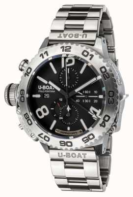 U-Boat Chronographe Doppiotempo | acier inoxydable | bracelet 9016/MT