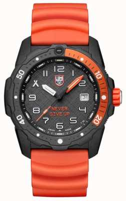 Luminox Bear grylls série mer de survie | bracelet en silicone orange XB.3729.NGU
