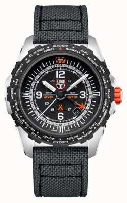 Luminox Bear grylls air de survie | bracelet en cordura gris | cadran noir XB.3761