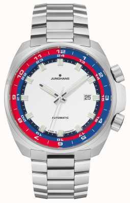 Junghans Bracelet automatique en acier inoxydable édition FIS 1972 027/4160.44