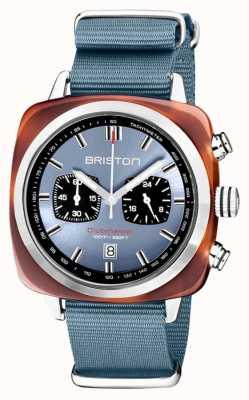 Briston | clubmaster sport | acétate | bleu glace | 20142.SA.TS.25.NIB