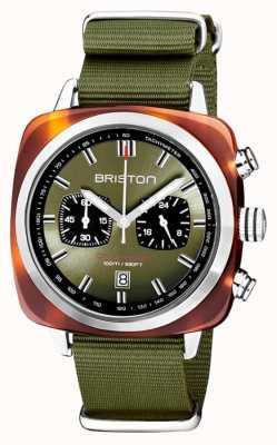 Briston | clubmaster sport | acétate | olive | 20142.SA.TS.26.NOL