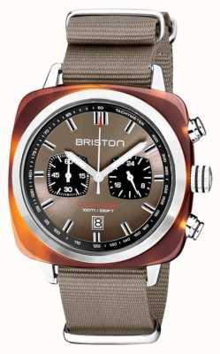 Briston | clubmaster sport | acétate | taupe | 20142.SA.TS.30.NT