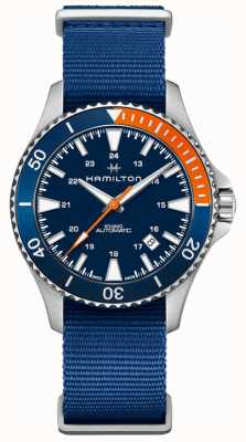 Hamilton Bracelet homme kaki marine scuba auto nato H82365941