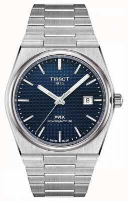 Tissot Prx 40 205 | powermatic 80 | cadran bleu | acier inoxydable T1374071104100
