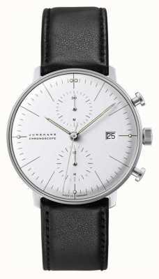Junghans Verre saphir chronoscope Max Bill 27/4600.02