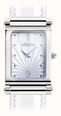 Michel Herbelin Antarès | cadran de montre en acier inoxydable uniquement | chiffres romains H.17048/59
