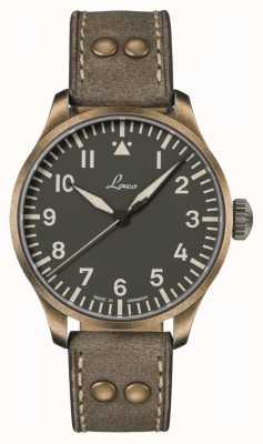 Laco Augsbourg olive 42 | édition limitée | bracelet en cuir olive 862127