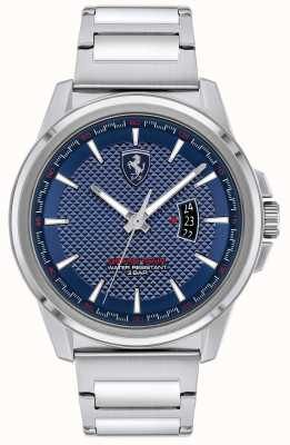 Scuderia Ferrari Grand tour des hommes | bracelet en acier inoxydable | cadran bleu 0830835