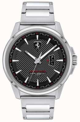 Scuderia Ferrari Grand tour des hommes | bracelet en acier inoxydable | cadran noir 0830834