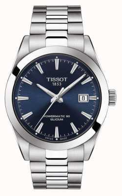 Tissot | powermatic 80 silicium | automatique | cadran de date bleu | T1274071104100