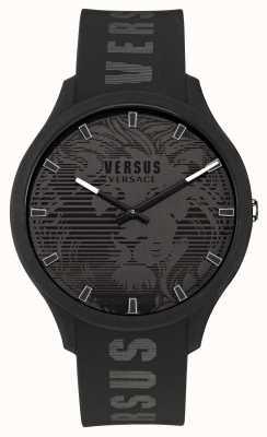 Versus Versace Montre homme domus bracelet silicone noir VSP1O0521