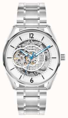 Kenneth Cole Automatique | cadran argenté | bracelet en acier inoxydable KC50205001A