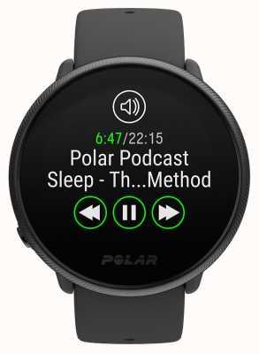 Polar Ignite 2 | perle noire | activité et traqueur hr | bracelet en silicone noir | s / l 90085182