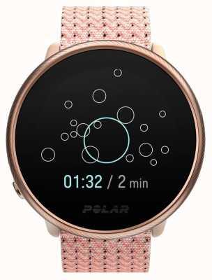 Polar Ignite 2 | rose et rose | activité et traqueur hr | bracelet en tissu rose | s / m 90085186