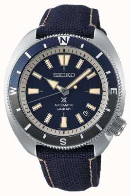 Seiko Prospex | édition de la terre «tortue» | bracelet bleu SRPG15K1