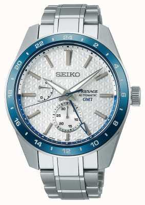 Seiko Presage Sharp Edge GMT: édition limitée 140e anniversaire SPB223J1