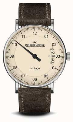 MeisterSinger Hommes | vintage | daim | bracelet en cuir MEISTERSINGER VT903- SV02